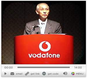 Vodafone Japan's Final Media Briefing: Out with a Whimper