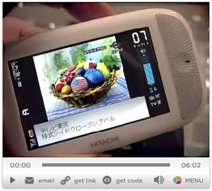 Japan Launches Digital TV for Mobile Phones