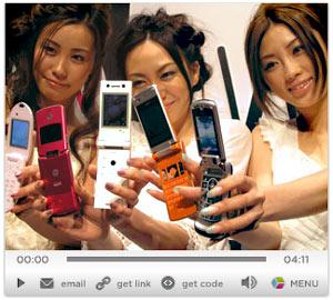 Motorola Razr, Designer Phones in DoCoMo 3G Summer 7-Series