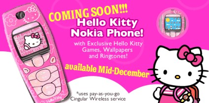 Nokia Says Hello Kitty Wireless Watch Japan