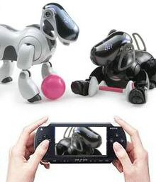 Sony's PSP Can Even Play with Aibo!