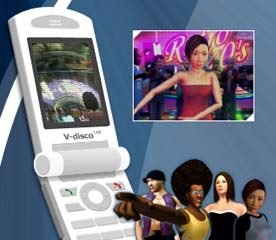 Mobile Phones Jump and Jive at 3G Wireless Disco