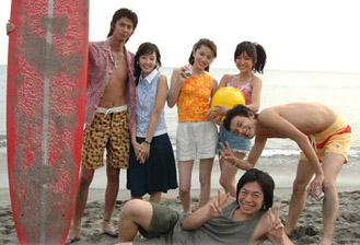 Cast of SkyPerfect TV's Yokohama Eighties